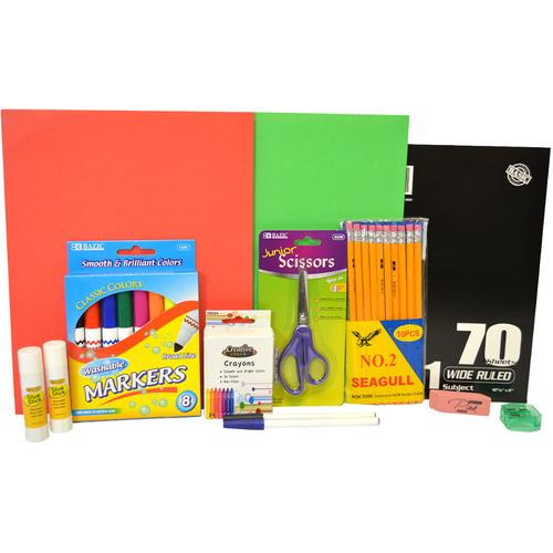 Case of [10] Back-to-School Pre-Filled Kit - 3rd-5th