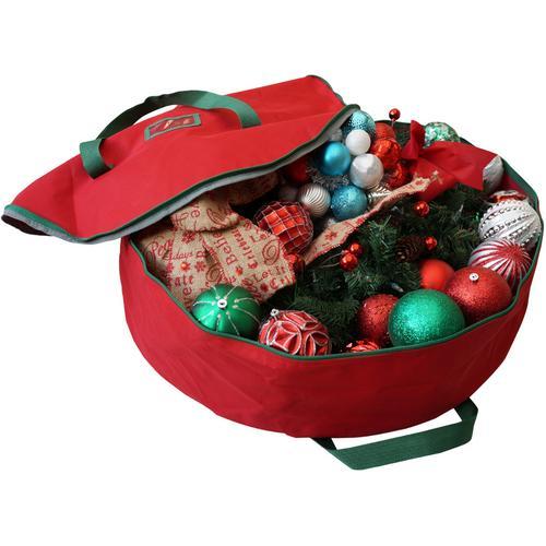 Case of [1] Christmas Wreath Bag