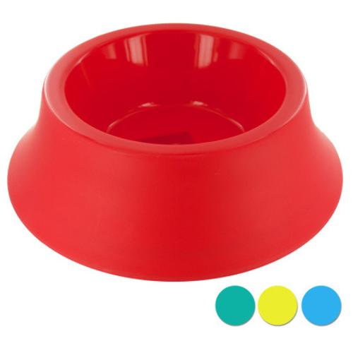 Case of [24] Large Size Round Plastic Pet Bowl