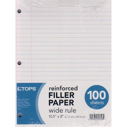Case of [12] Reinforced Filler Paper - Wide Rule