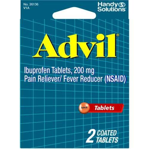 Case of [12] Advil - 2 Tablets