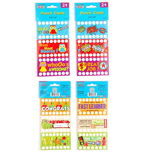 Case of [12] FLOMO Punch Cards