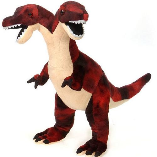 "Case of [12] 18"" Two Head Dinosaur Plush Toy"