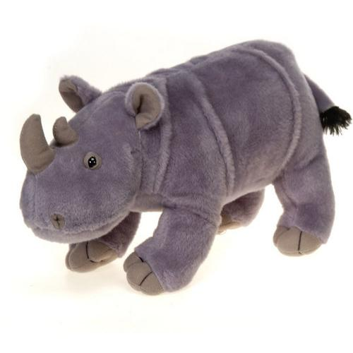 "Case of [12] 14"" Standing Rhino Plush Toy"