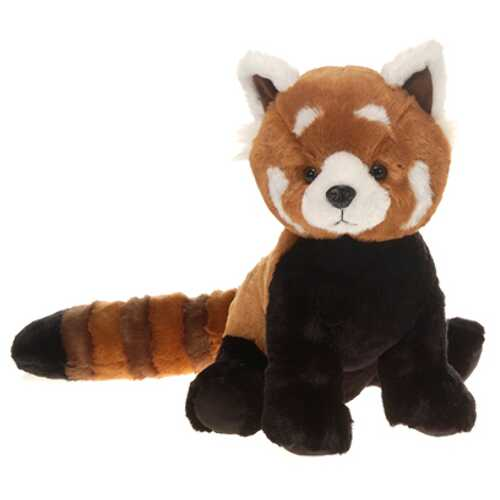 "Case of [12] 16"" Sitting Red Panda Plush Toy"