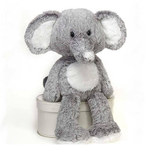 "Case of [12] 16"" Fuzzy Folk Taylor Elephant Plush Toy"