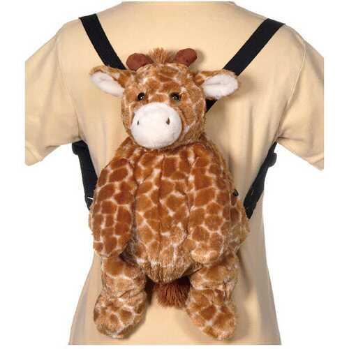 "Case of [12] 16"" Travel Buddies Giraffe Plush Toy"