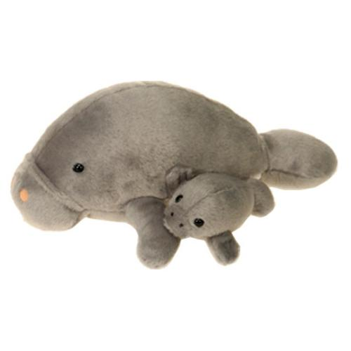 "Case of [24] 11"" Mama Manatee & Baby Plush Toy"