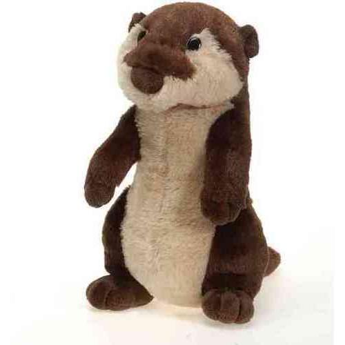 "Case of [24] 10"" Travel Tails River Otter Plush Toy"