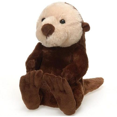 "Case of [24] 9"" Travel Tails Sea Otter Plush Toy"