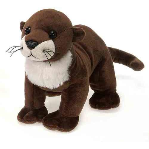 "Case of [24] 9"" Lil' Buddies River Otter Plush Toy"