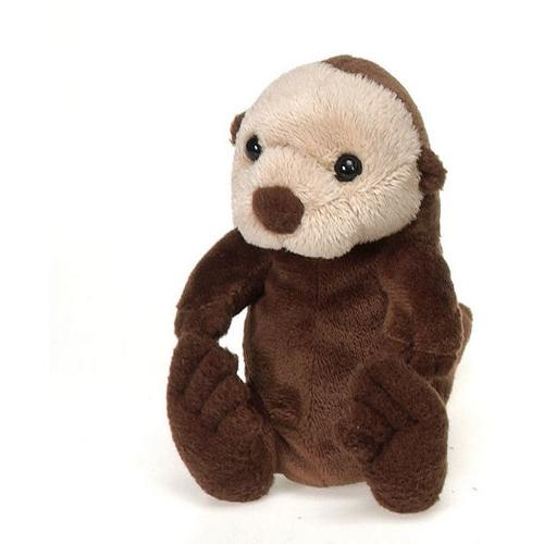 "Case of [48] 5"" Lil' Buddies Sitting Sea Otter Plush Toy"