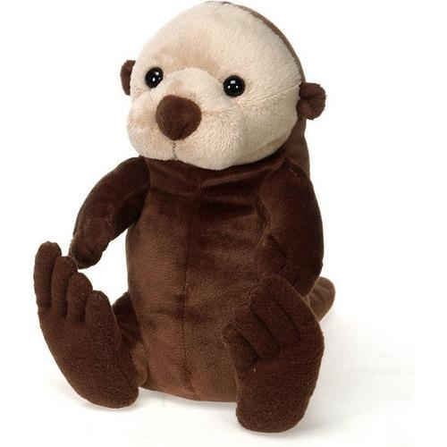 "Case of [24] 9"" Lil' Buddies Sitting Sea Otter Plush Toy"