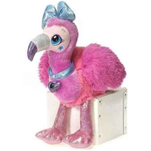 """Case of [18] 8"""" Sparkle Starz Stella Flamingo Plush Toy"""