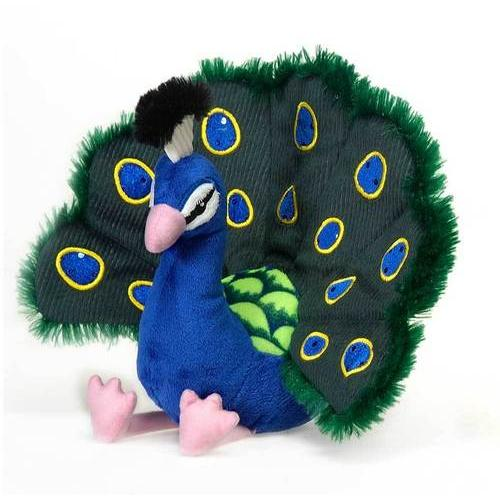 """Case of [24] 8"""" Peacock Plush Toy"""