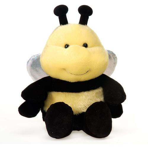 """Case of [24] 7"""" Sitting Bee Plush Toy"""
