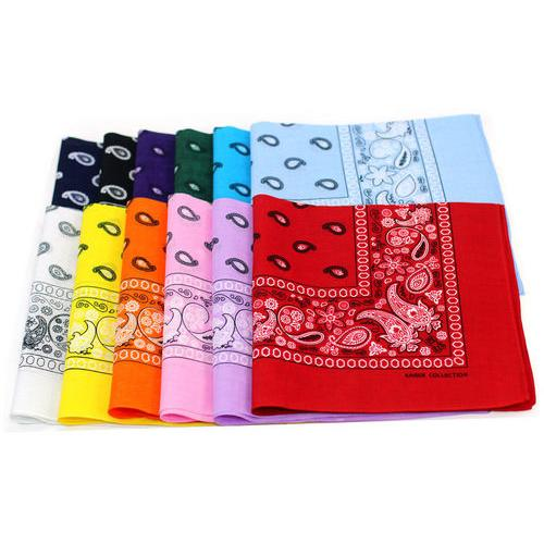 Case of [120] Bandanas - Assorted Colors