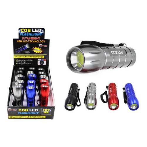 Case of [15] COB LED Flashlight