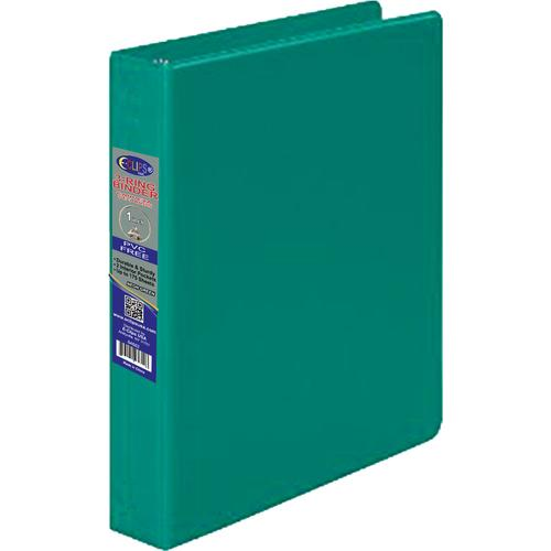 """Case of [24] 1"""" Hard Cover (PVC Free) 3-Ring Binder -Neon Green"""