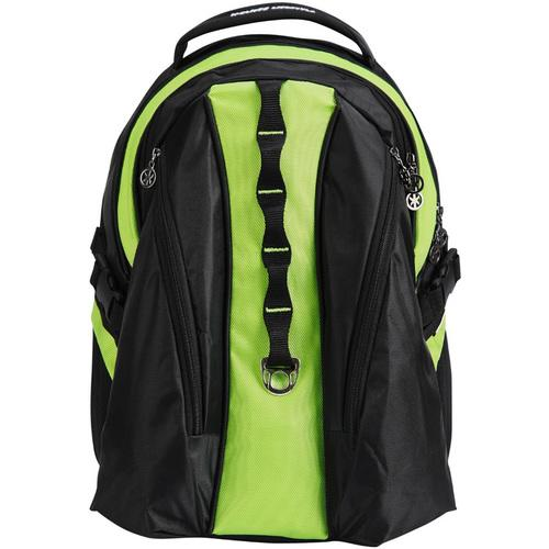 """Case of [20] 18"""" Premium Backpack with Laptop Compartment - Green"""