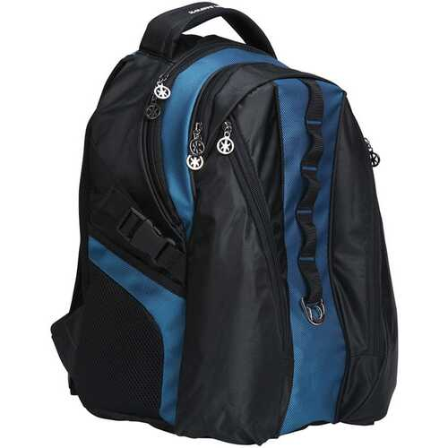 """Case of [20] 18"""" Premium Backpack with Laptop Compartment - Navy"""