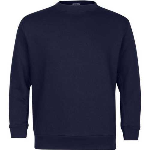 Case of [6] Premium Navy Youth Crew Neck Sweatshirt - Size 7/8