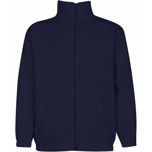 Case of [6] Premium Navy Youth Mock Neck Zippered Sweatshirt - Size 3/4 (XXS)