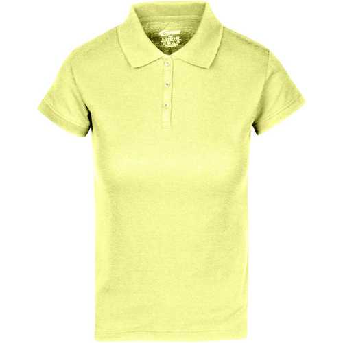 Case of [6] Premium Yellow Juniors Polo Shirts - Size S