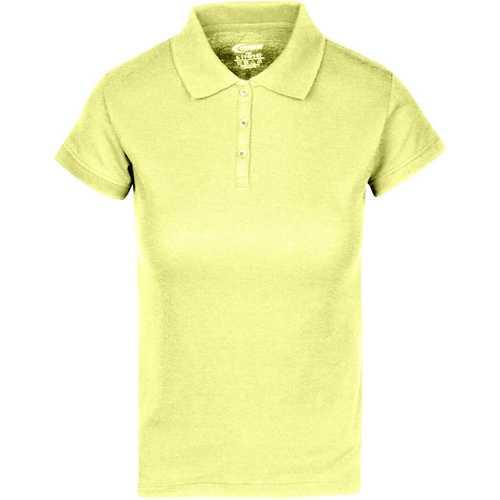 Case of [6] Premium Yellow Juniors Polo Shirts - Size XL