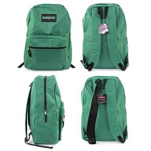 """Case of [12] 15"""" PureSport Classic Backpacks - Green"""