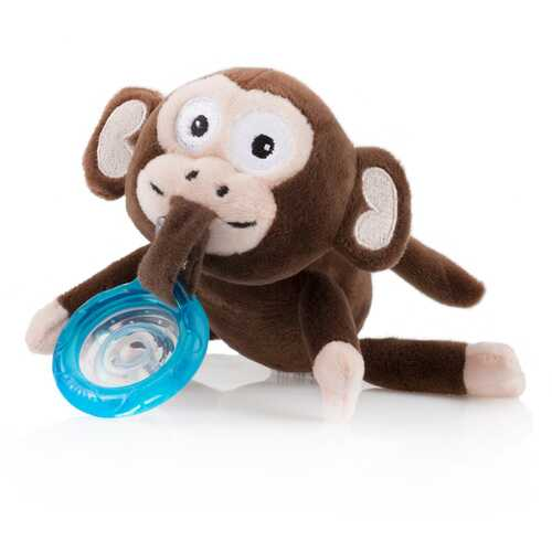 Case of [12] Nuby? Plush Snoozie Pacifier Holder (Monkey)