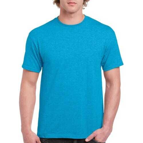 Case of [12] Irregular Gildan T-Shirts Style 2000 Heather Sapphire - Size XL