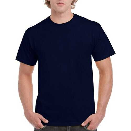 Case of [12] Irregular Gildan T-Shirts Style 2000 Navy - Size 4XL