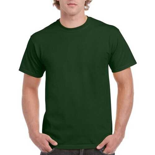 Case of [12] Irregular Gildan T-Shirts Style 2000 Forest Green - Size 2XL