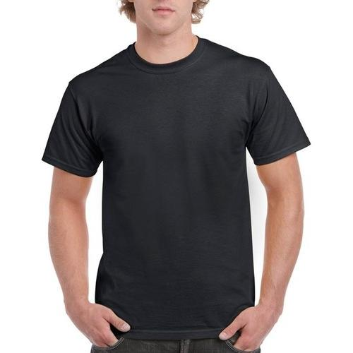 Case of [12] Irregular Gildan T-Shirts Style 2000 Black - Size Small