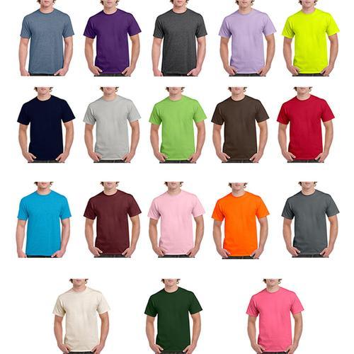 Case of [12] Irregular Gildan T-Shirts Style 2000 Assorted - Size Large