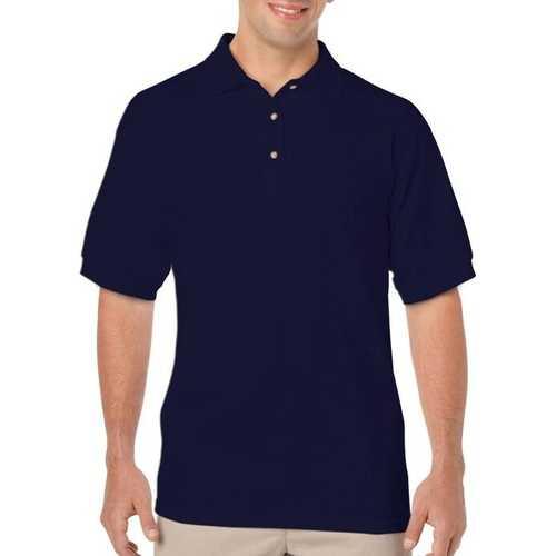 Case of [12] Irregular Gildan Navy Polo Shirts - Size XL