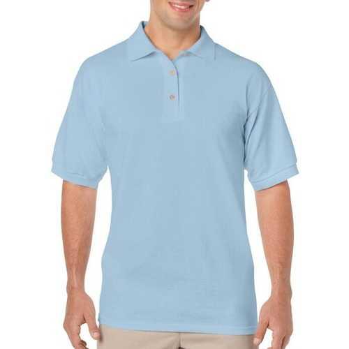 Case of [12] Irregular Gildan Light Blue Polo Shirts