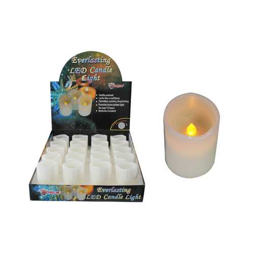 Case of [20] Small Wax Votive Candle