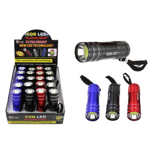 Case of [20] COB LED Promo Flashlight