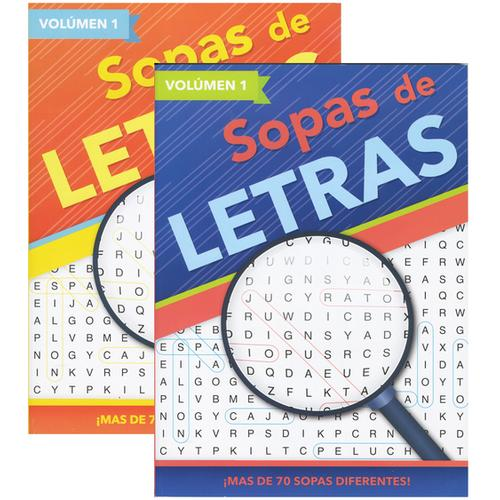 Case of [48] Sopras de Letras - Spanish Word Search Books