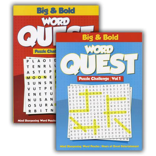 Case of [48] Big & Bold - Word Quest Puzzles Book