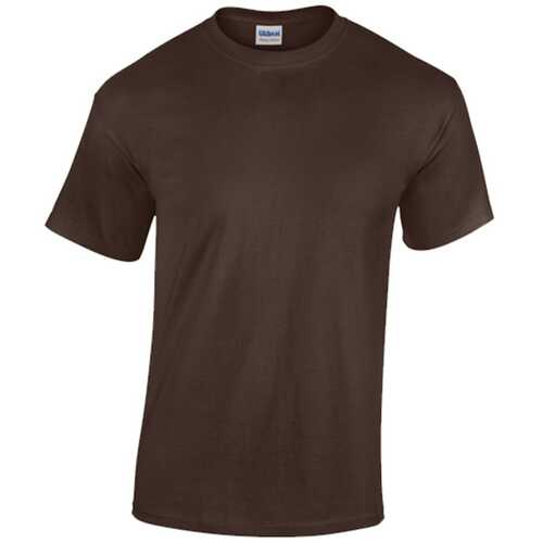 Case of [12] Gildan T-Shirt Style 5000 Dark Chocolate - Size Large