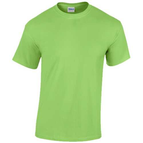 Gildan T-Shirt Style 5000 Lime - Size Medium