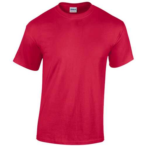 Case of [12] Gildan T-Shirt Style 5000 Red - Size Large