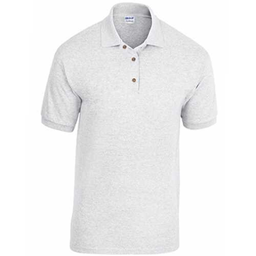Case of [12] Adult Pique Sport Shirt - Ash - 2XL