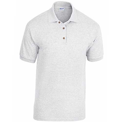 Case of [12] Adult Pique Sport Shirt - Ash - XL