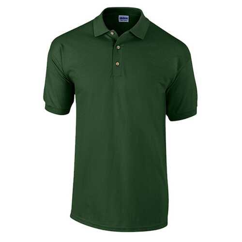 Case of [12] Adult Pique Sport Shirt - Forest Green - XL