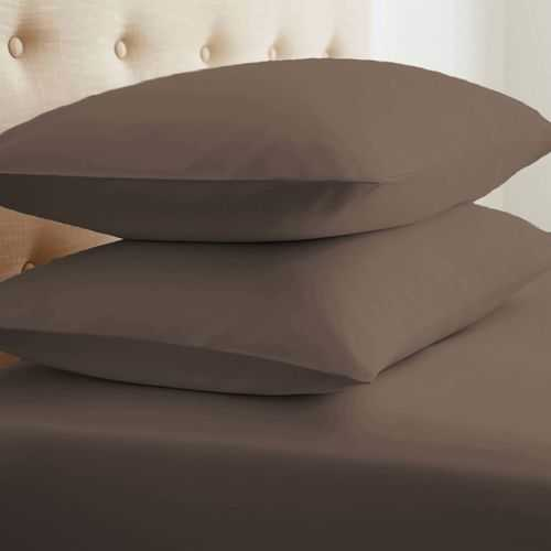 Case of [24] StandardDouble-Brushed Microfiber 2 Piece Pillow Case Set - Taupe