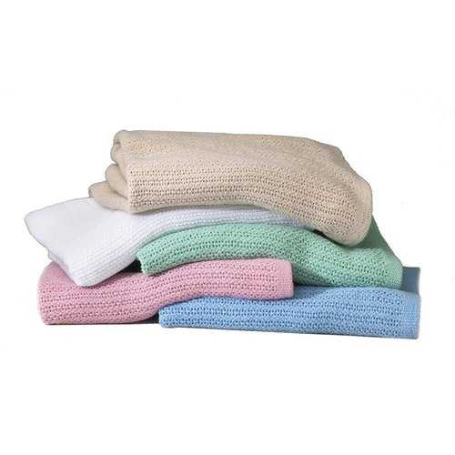 """Case of [12] Snagless Thermal Blanket 66"""" x 90"""" - Assorted"""